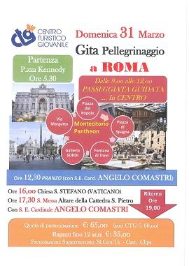 GITA PELLEGRINAGGIO A ROMA